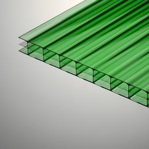 Поликарбонат Berolux /Woggel цветной (2,1*12м, 10 мм)