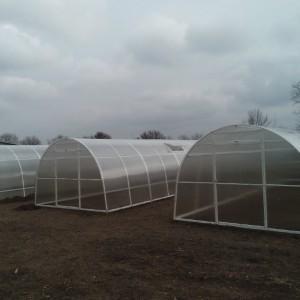 Теплица «Агросфера Плюс» 6м. СПК Skyglass 4 мм