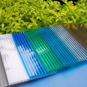 Сотовый поликарбонат Skyglass цветной (2,1*12 м, 16 мм)