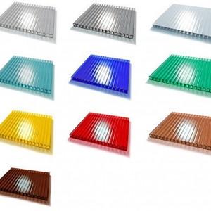 Поликарбонат Кинпласт цветной (2,1*6м, 25 мм)