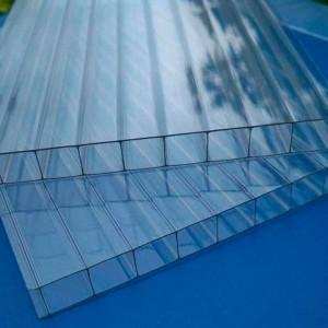 Skyglass прозрачный сотовый поликарбонат (2,1*12 м, 16 мм)