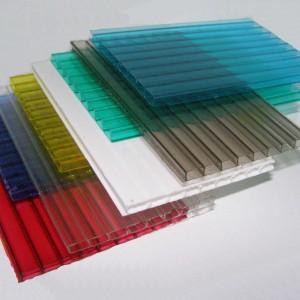 Сотовый поликарбонат Кинпласт цветной (2,1*12м, 25 мм)