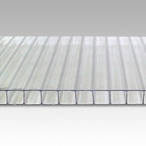 Сотовый поликарбонат Woggel прозрачный (2,1*6 м, 16 мм)