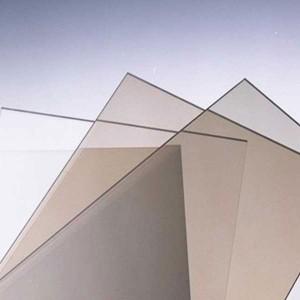 Монолитный поликарбонат Kinplast. (бронза, белый), (2,05*3,05м, 3мм)