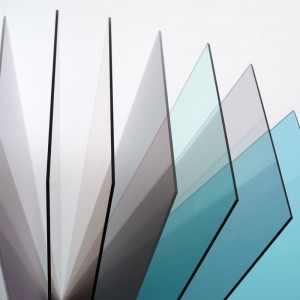 Прозрачный монолитный поликарбонат Kinplast 8мм