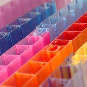 Сотовый поликарбонат Skyglass (2,1*6 м, 16 мм), цветной