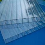 Сотовый поликарбонат Skyglass прозрачный (2,1*6м., 6мм)