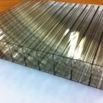 Прочный сотовый поликарбонат КинПласт прозрачный (2,1*6 м, 20 мм)