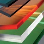 Монолитный цветной поликарбонат Kinplast 2 UV, (2,05*3,05м, 8мм)